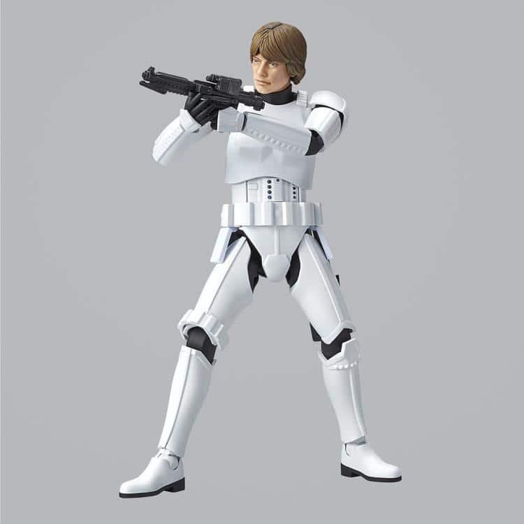 1/12 Luke Skywalker Stormtrooper Model Kit Pose 5