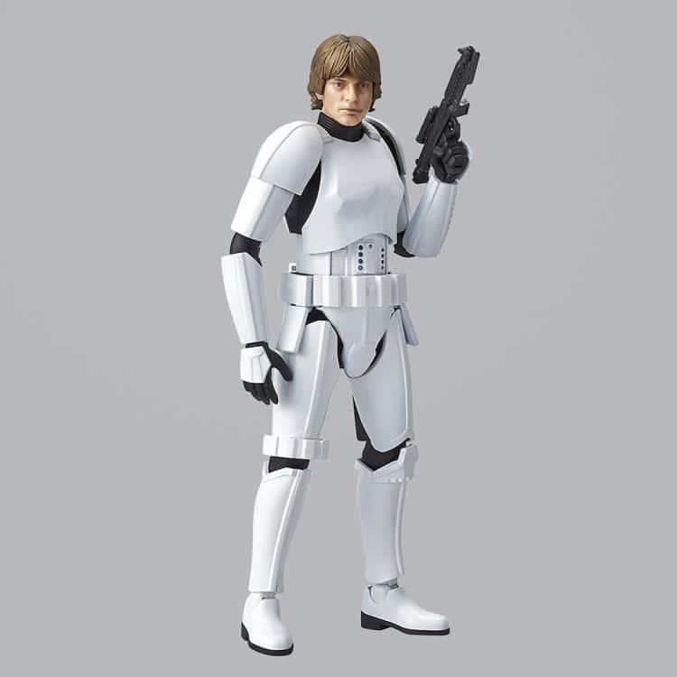1/12 Luke Skywalker Stormtrooper Model Kit Pose 6