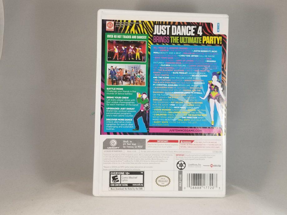 Just Dance 4 Back