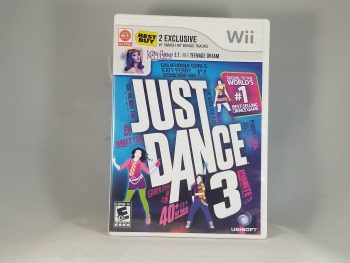 Just Dance 3 Front