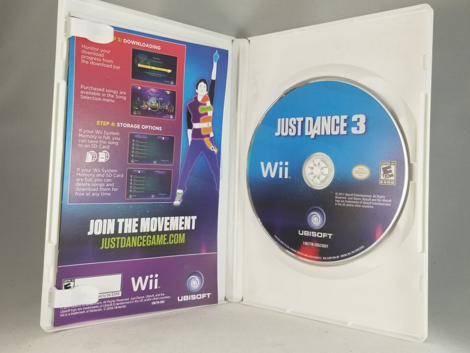 Just Dance 3 Disc