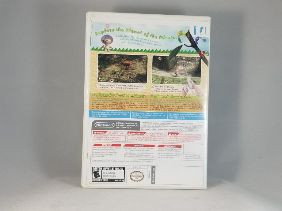 New Play Control Pikmin Back