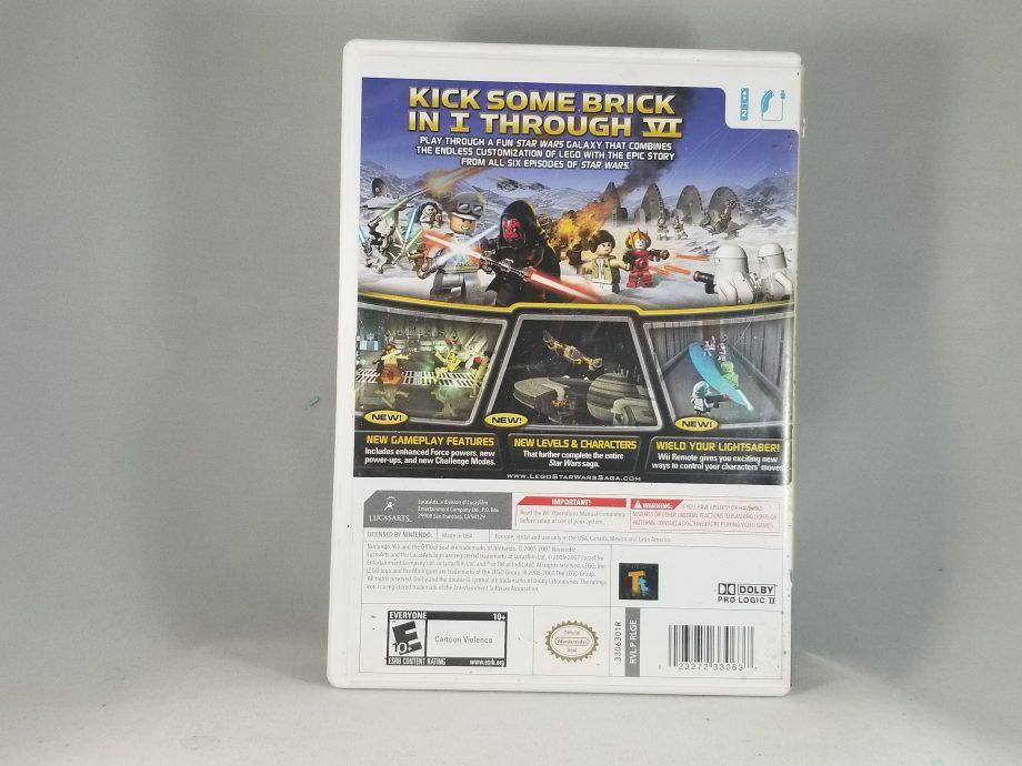 Lego Star Wars The Complete Saga Back