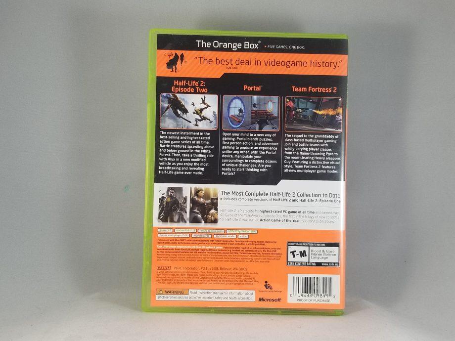 The Orange Box Back