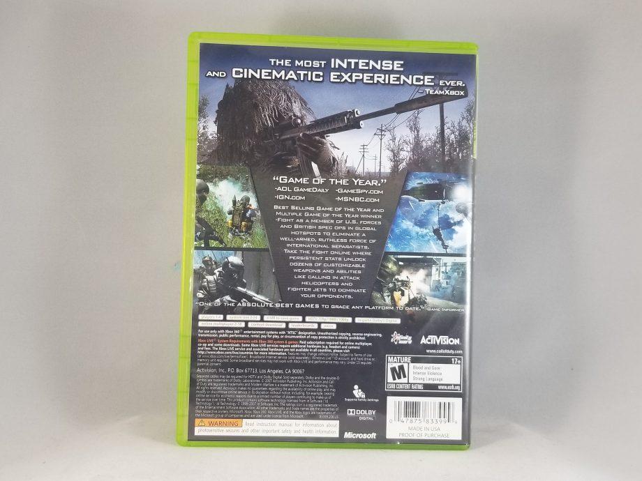 Call Of Duty Modern Warfare 4 Back