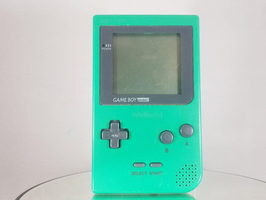 Game Boy Pocket Green Front