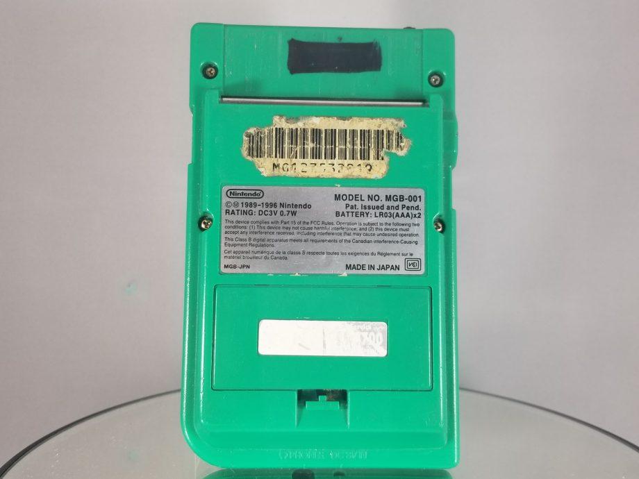 Game Boy Pocket Green Back