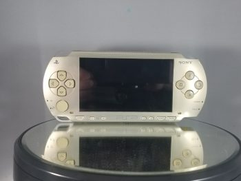 Playstation Portable System Champagne Gold 1000 Front