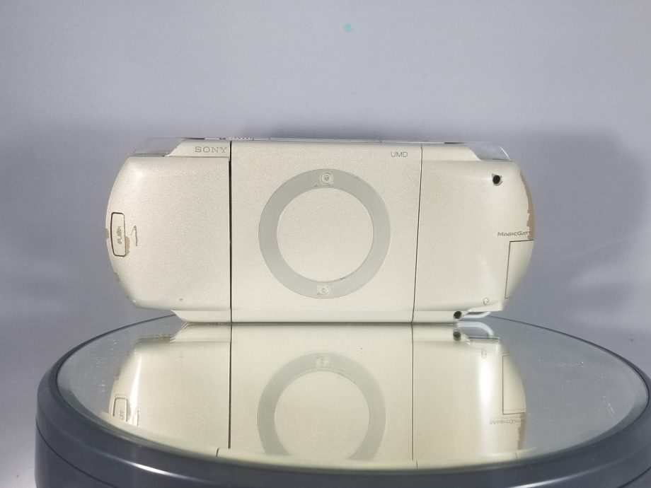 Playstation Portable System Champagne Gold 1000 Back