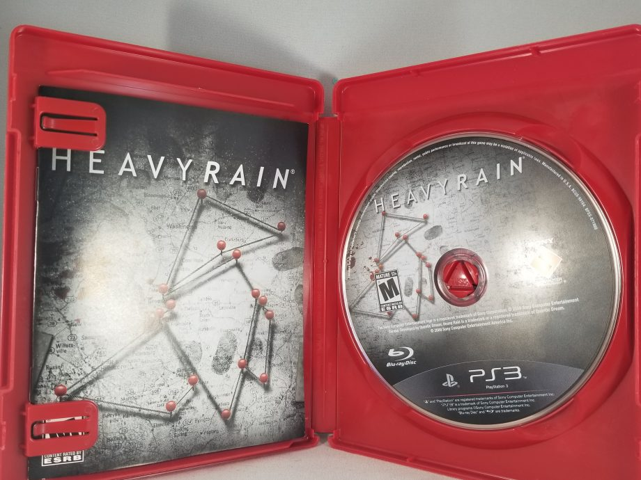 Heavy Rain Disc