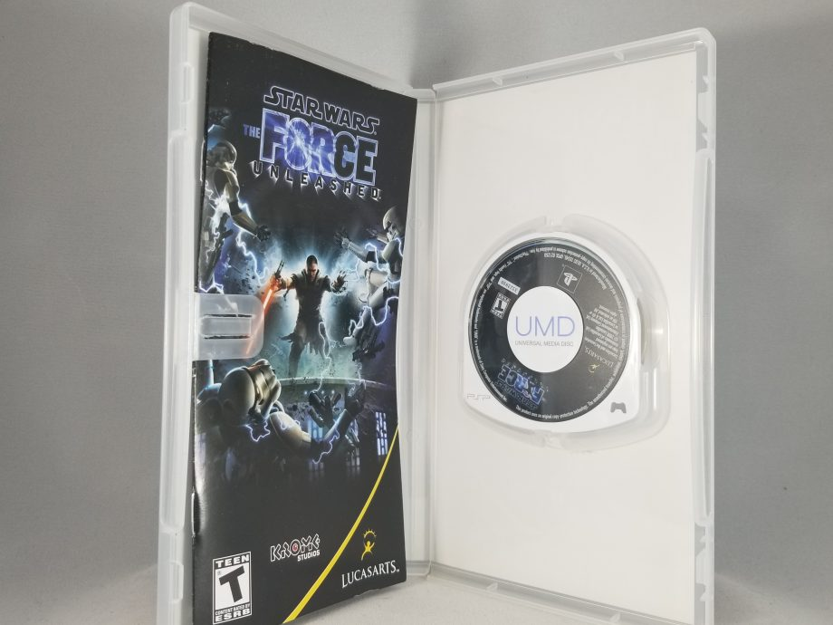 Star Wars The Force Unleashed Disc