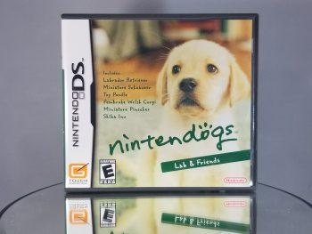 Nintendogs Lab & Friends Front