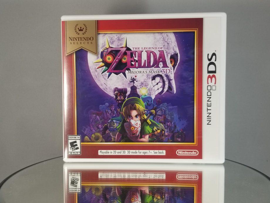 The Legend Of Zelda Majora's Mask 3D Front
