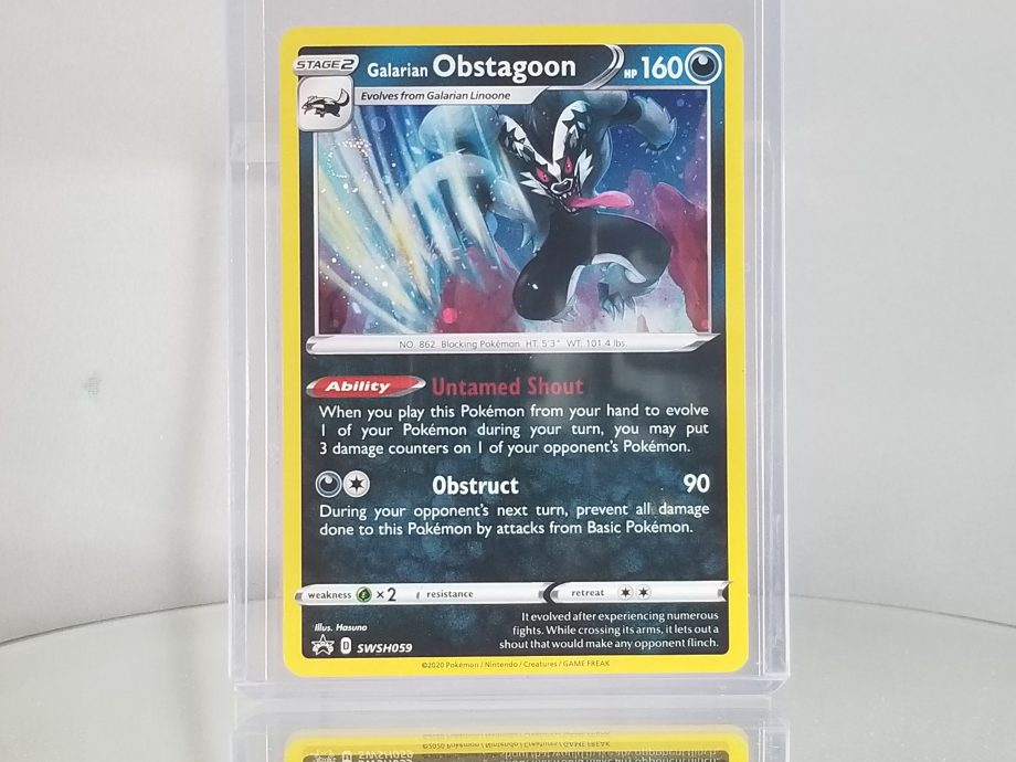 Sword & Shield Promo 059 Galarian Obstagoon Front