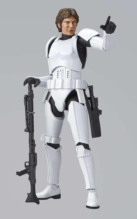 1/12 Han Solo Stormtrooper Model Kit Pose 6