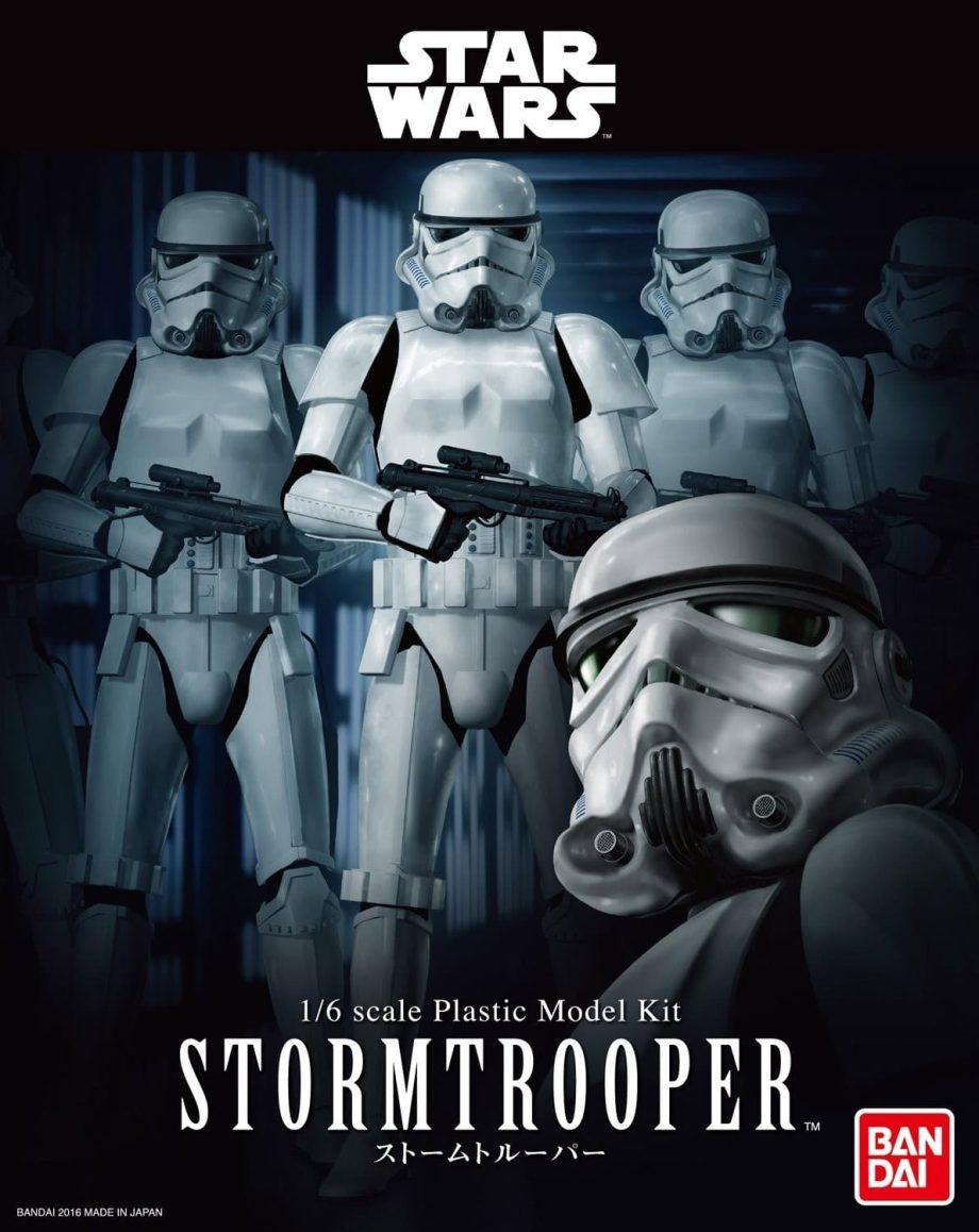 1/6 Stormtrooper Model Kit Box