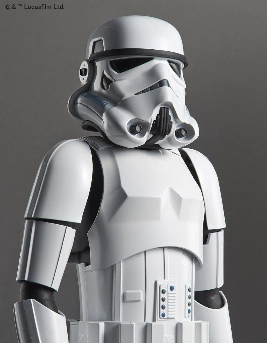 1/6 Stormtrooper Model Kit Pose 4