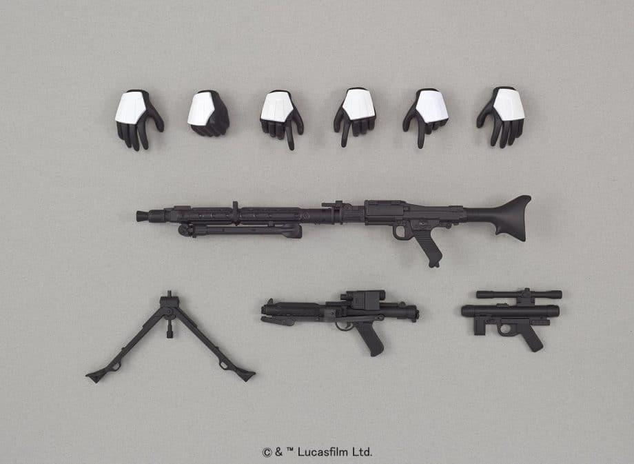 1/6 Stormtrooper Model Kit Pose 5