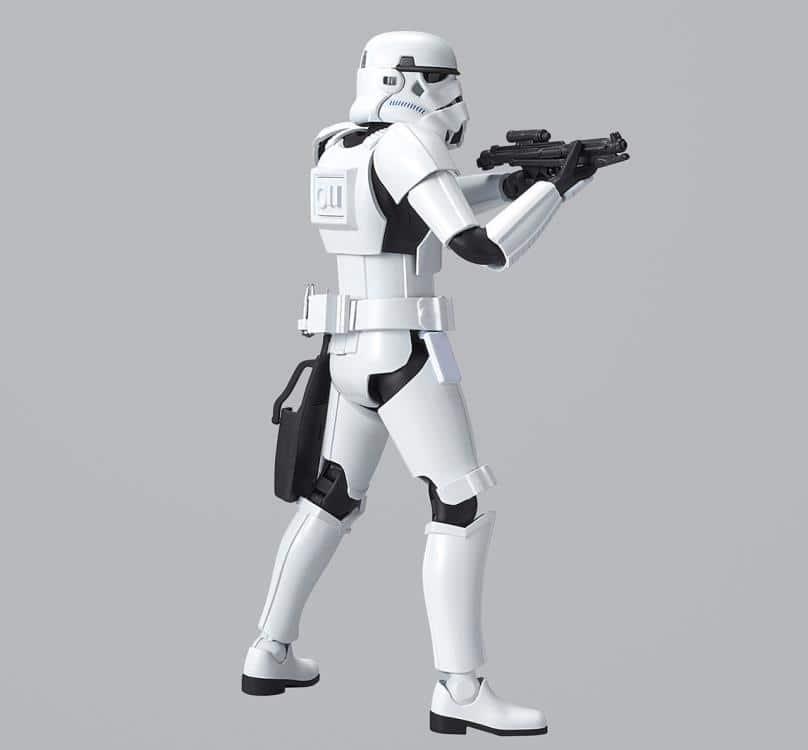 1/12 Luke Skywalker Stormtrooper Model Kit Pose 2