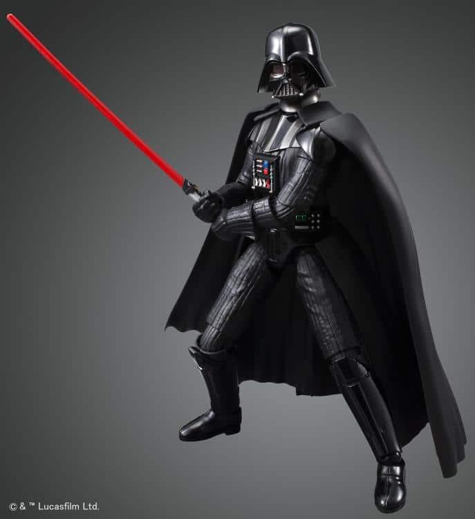 1/12 Darth Vader Model Kit Pose 1