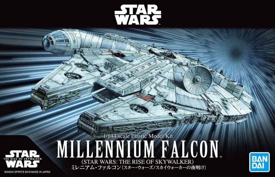 1/144 Millennium Falcon The Rise Of Skywalker Model Kit Box