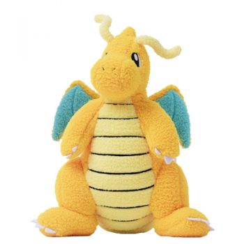 Dragonite Curly Fabric Plush Pose 1