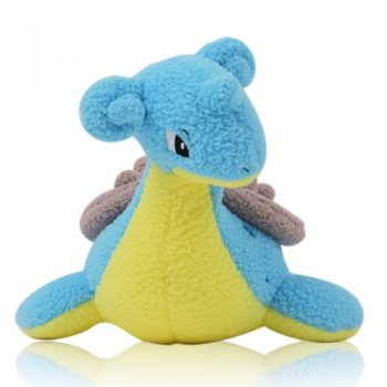 Lapras Curly Fabric Plush Pose 1