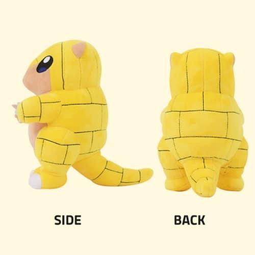 Pokemon Sandshrew Plush