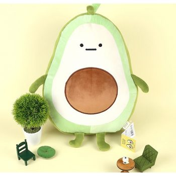 Avocado Brother Mochi Plush Pose 1