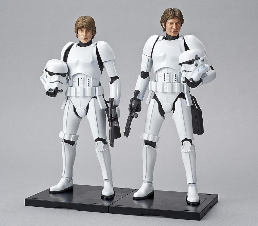 1/12 Han Solo Stormtrooper Model Kit Pose 9