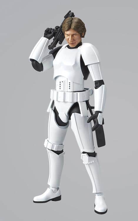 1/12 Han Solo Stormtrooper Model Kit Pose 7