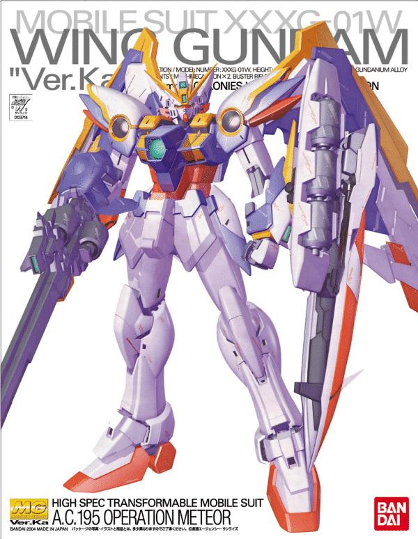 Gundam Wing 1/100 Master Grade XXXG-01W Wing Gundam Ver. Ka