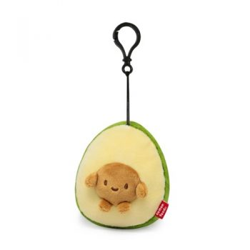 Avocado With Seed Plush Keychain Pose 1