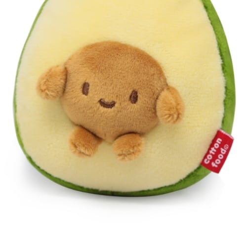 Avocado With Seed Plush Keychain Pose 5