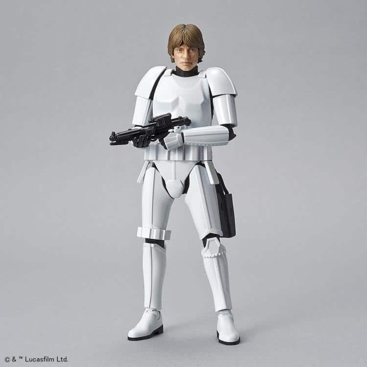1/12 Luke Skywalker Stormtrooper Model Kit Pose 8
