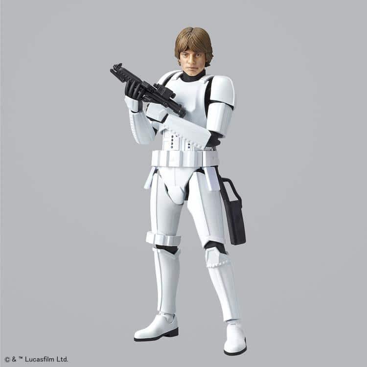 1/12 Luke Skywalker Stormtrooper Model Kit Pose 1