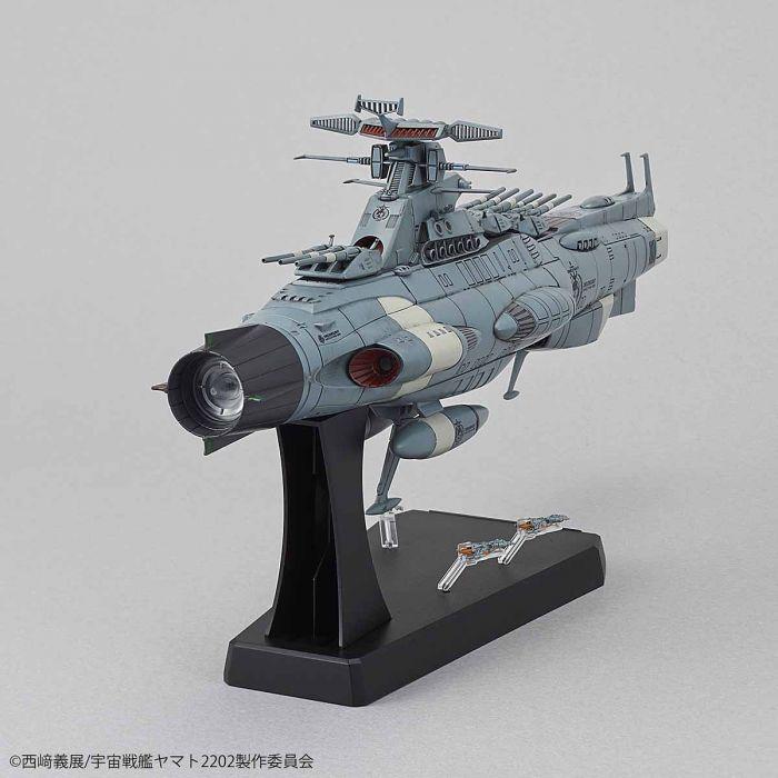 1/1000 Space Battleship Yamato 2202 Dreadnought Pose 4