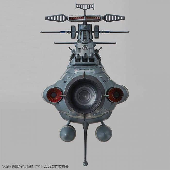 1/1000 Space Battleship Yamato 2202 Dreadnought Pose 7