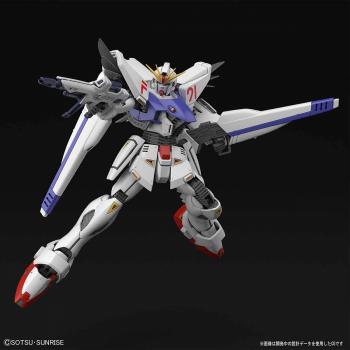 1/100 Master Grade Gundam F91 Ver 2.0 Pose 1