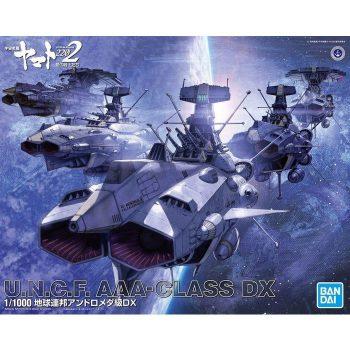 1/1000 Space Battleship Yamato 2202 UNCF AAA Class DX Box