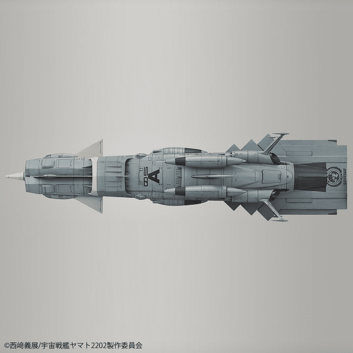 1/1000 Space Battleship Yamato 2202 UNCF AAA Class DX Pose 6
