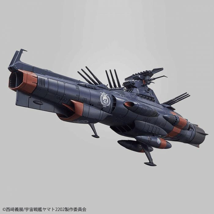 1/1000 Space Battleship Yamato 2202 UNCF D1 Mars Absolute Defense Line Set Pose 3