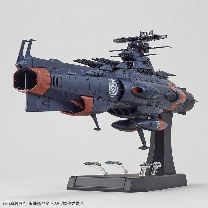 1/1000 Space Battleship Yamato 2202 UNCF D1 Mars Absolute Defense Line Set Pose 4