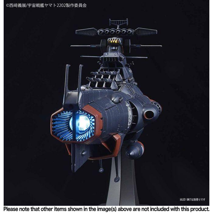 1/1000 Space Battleship Yamato 2202 UNCF D1 Mars Absolute Defense Line Set Pose 7