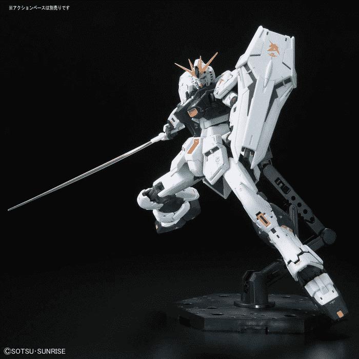 Real Grade Nu Gundam Pose 4