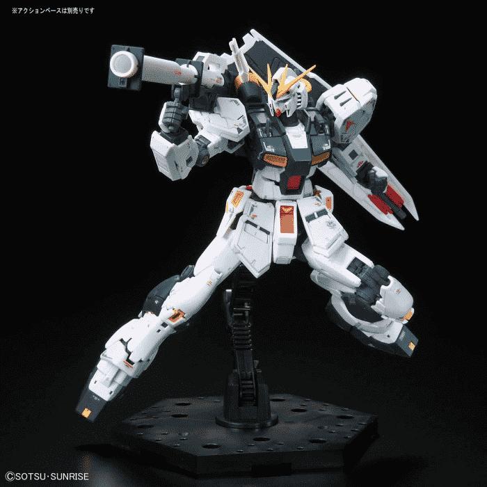 Real Grade Nu Gundam Pose 6