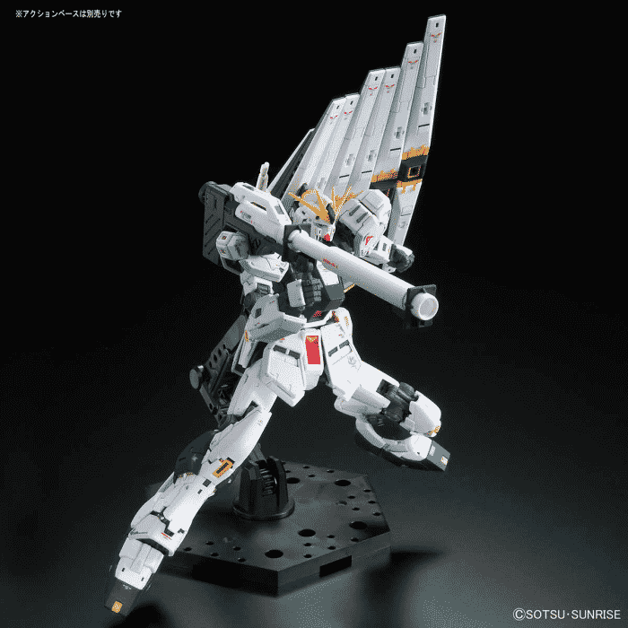 Real Grade Nu Gundam Pose 7