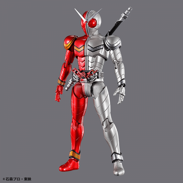 Kamen Rider Double Heatmetal Figure Rise Standard Pose 1
