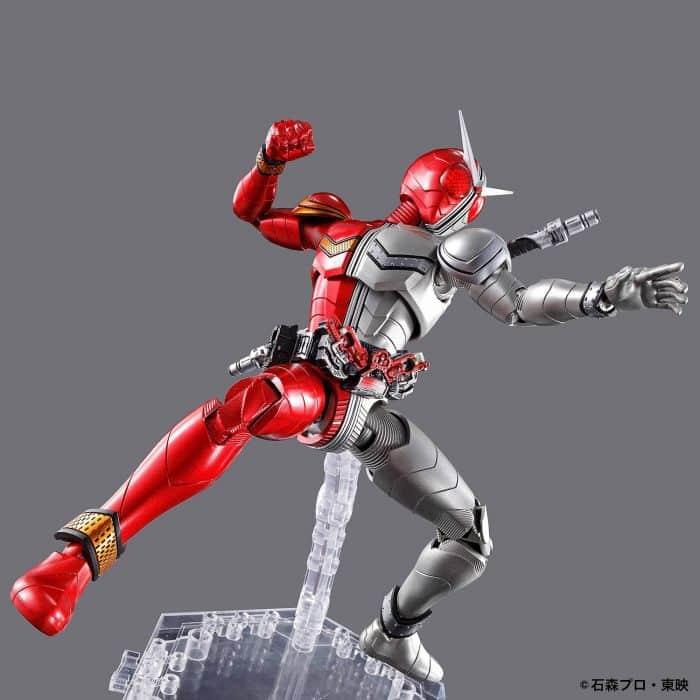 Kamen Rider Double Heatmetal Figure Rise Standard Pose 4