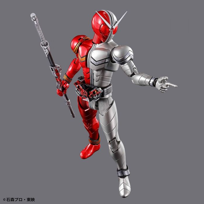 Kamen Rider Double Heatmetal Figure Rise Standard Pose 5